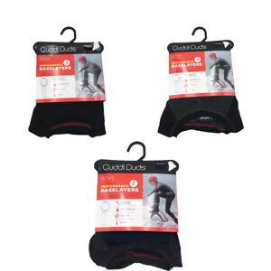 New Cuddl Duds Boys 2 piece Thermal Top and Bottoms Baselayer Set