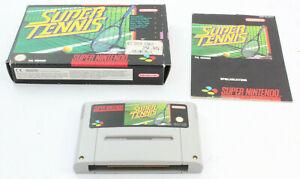 Super Nintendo Entertainment System SNES Super Tennis PAL C6 2110 I2