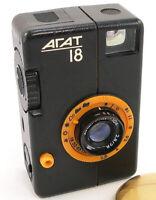 1984! AGAT-18 K Russian BelOMO Half-frame 18x24 Camera Industar-104 2.8/28 Lens