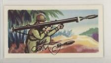 1962 Northern Co-operative Weapons of World War II Tea Bazooka #16 z6d