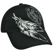Feather Bear Native Pride Nature Hat Cap Shadow Adjustable Constructed