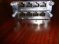 Genuine Cisco HWIC-4ESW 4 Port 10/100 Ethernet Switch Interface Card