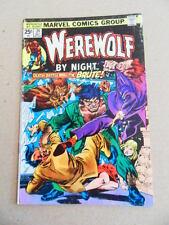 Werewolf by Night 24 . G.Kane  Cover - Marvel  1974 - VG +
