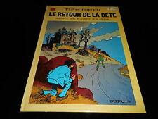 Will / Tillieux : Tif et Tondu 25 : Le retour de la bête Dupuis 1987