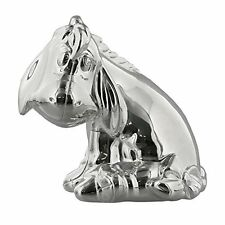 Silver Plated Disney EEYORE Money  Bank Box New Baby Christening Gift