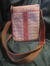 Coach Crossbody MinSig Swing Pac In Burgundy NEW With Tags