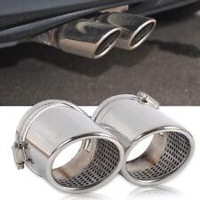 2X TAIL REAR MUFFLER TIP PIPE fit for VW Passat B6 3C06-10 2.0T 3.6CC Li