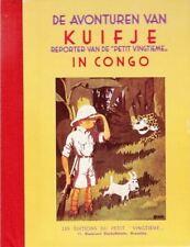 Kuifje (minialbum) 1: Kuifje in Congo.                Hardcover met linnen rug!