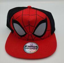 Marvel Youth Kids Boys NWOT Spider-Man Comics Cartoon Era Red Hat Cap Snapback