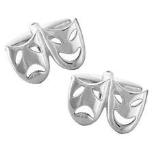 Comedy & Tragedy Theatre Masks Cufflinks