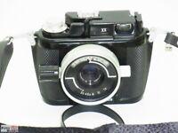 Nikon Unterwasserkamera NIKONOS-II analog +Objektiv UW-Nikkor 2,5/35 Unterwasser
