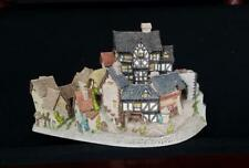 David Winter ~ The Village ~ Mib ~ Coa ~ One Of David'S Largest And Earliest