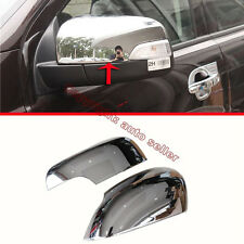 ABS Chrome Side Mirror Cover Trim For Ford Everest 2016 2017 2018