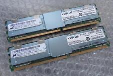 8GB Kit Micron MT36HTF51272FY-667G1D6 PC2-5300F DDR2 2Rx4 FBDIMM Server Memory