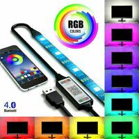 3M/5M RGB LED Strip Light Music Bluetooth APP Control for TV PC Back Light USB