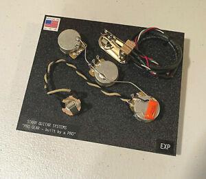 Gibson Explorer Wiring Harness Upgrade! CTS - Switchcraft - Orange Drop! NEW!