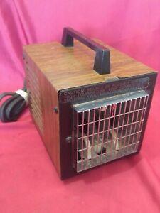 VTG Big Heat 6200 Small Cube Space Heater 1500/1200 Watt - Works - USA Made