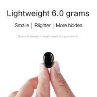 NEW Mini Wireless Bluetooth Headset Stereo Earphone Headphone for iPhone Samsung