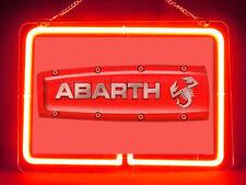 Abarth Hub Bar Display Advertising Neon Sign