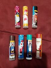 LOT OF 7 - AVON HOLIDAY KIDS FLAVORED LIP BALMS - SEALED - FREE SHIPPING