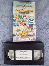 Mr. Monster / A Delightful Musical Story to Encourage Reading - VHS Video Tape