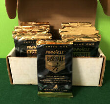 1995 PINNACLE BASEBALL SERIES ONE WAX PACK Without Box (36 PACKS) FACTORY SEALED