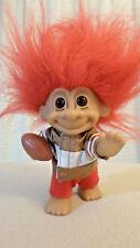 "Russ Vintage Troll 49ers Jacket Football Team NFL Sticker  Red Hair 5"" Winner!"