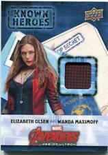 2016 Upper Deck ELIZABETH OLSEN Avengers Ultra Movie Relic WANDA MAXIMOFF