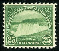 US Scott #699 Niagra Falls 25¢ Perf 11 x 10 1/2 (1931) MNH