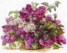 Counted Cross Stitch Kit ALISA 2-22 - Lilac