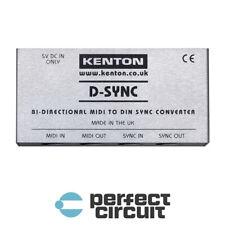 Kenton D-Sync MIDI To DIN Sync Converter INTERFACE - NEW - PERFECT CIRCUIT