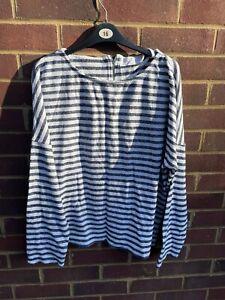 John lewis long sleeve ladies size 18 striped