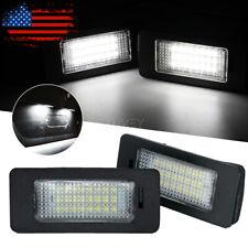2x Error Free Led License Plate Light Bulb For Bmw E90 E92 E39 E60 E61 M5 E70