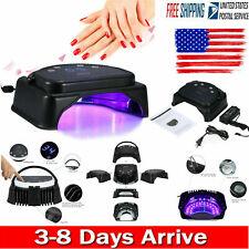 64W 32pcs Led Nail Dryer Lamp Curing+Lifting Handle Touch Sensor Lcd Screen L8G3