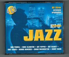 ♫ - JAZZ - ORIGINAL BEST OF - 4 CD SET 80 TITRES - 1999 - TRÈS BON ÉTAT - ♫