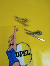 NEU + ORIG Opel Kapitän PL 2,6 Emblem L gold Logo Zeichen Schriftzug Chrom