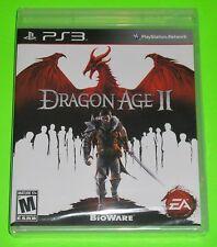 Dragon Age II (Sony PlayStation 3, 2011) NEW