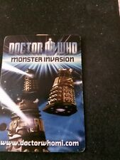 dr who monster invasion test cards pick five cards from the list for £2