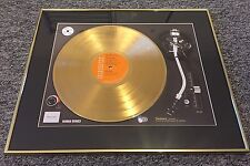 David Bowie - Aladdin Sane - Framed Gold Disk