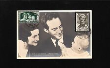 Belgium Maximum Postcard Royal Family Leopold Astrid Albert Jume Sep 21 1936 *