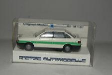 Rietze Modellauto 1:87 H0 Audi 80 Polizei