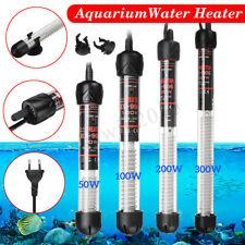 50W/100W/200W/300W Poisson Aquarium Chauffage Thermostat Submersible Ajustable