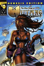 The Nine Rings of Wu-Tang Clan #0 Genesis Edition Wizard Variant RZA GZA ODB Presque comme neuf