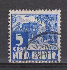Nederlands Indie 251 CANCEL KOEPANG Karbouw 1938 Netherlands Indies watermark