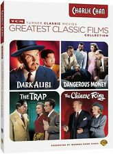 Tcm Greatest Classic Films: Charlie Chan - 4 DISC SET (2015, DVD NEW)