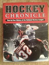 HOCKEY CHRONICLES YEAR BY YEAR HISTORY OF NATIONAL HOCKEY LEAGUE Stanley Cup
