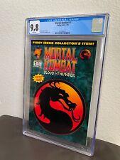 Mortal Kombat Blood & Thunder #1 CGC 9.8 White Pages Malibu Comics 7/94