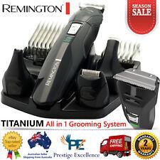 Remington Mens Shaver Hair Clipper Beard Face Body Groomer Cordless Rechargeable