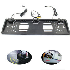 Rearview System Parking Sensors European EU License Plate with Rear Camera