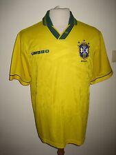 Brasil Brasil 90's home CBF Umbro football shirt soccer jersey trikot size L